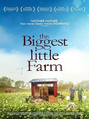 Affiche film Tout est possible (the biggest little farm) de John Chester Transition écologique