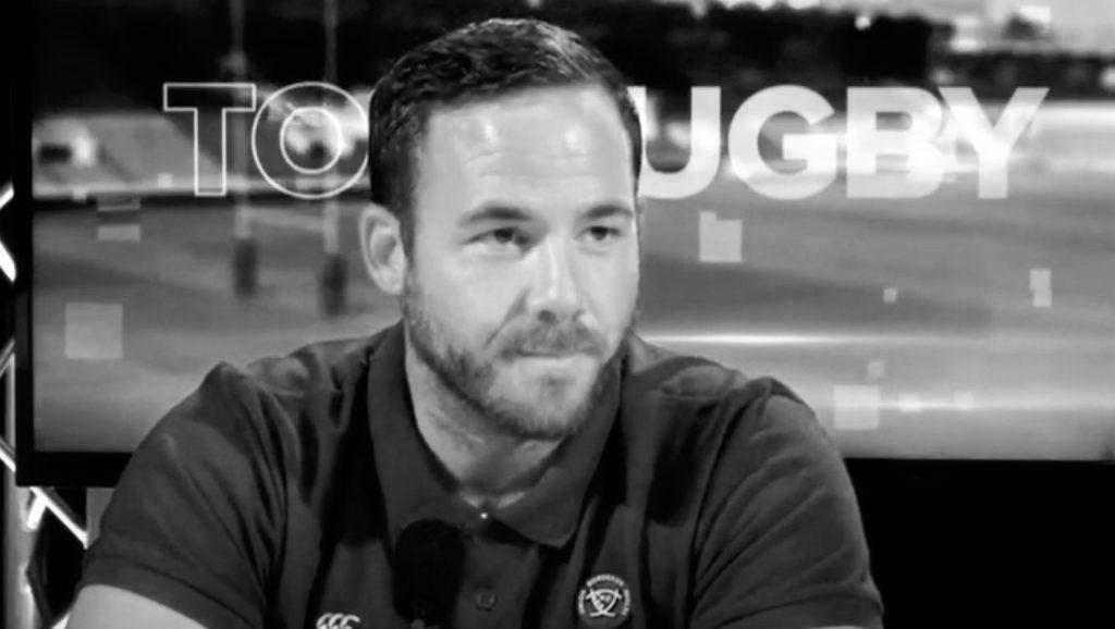 En compagnie de Julien Laïrle, ancien joueur de Rugby, entraineur des Avants et de la Défense au sein du Club de Bordeaux Bègles et leader dans l'âme.